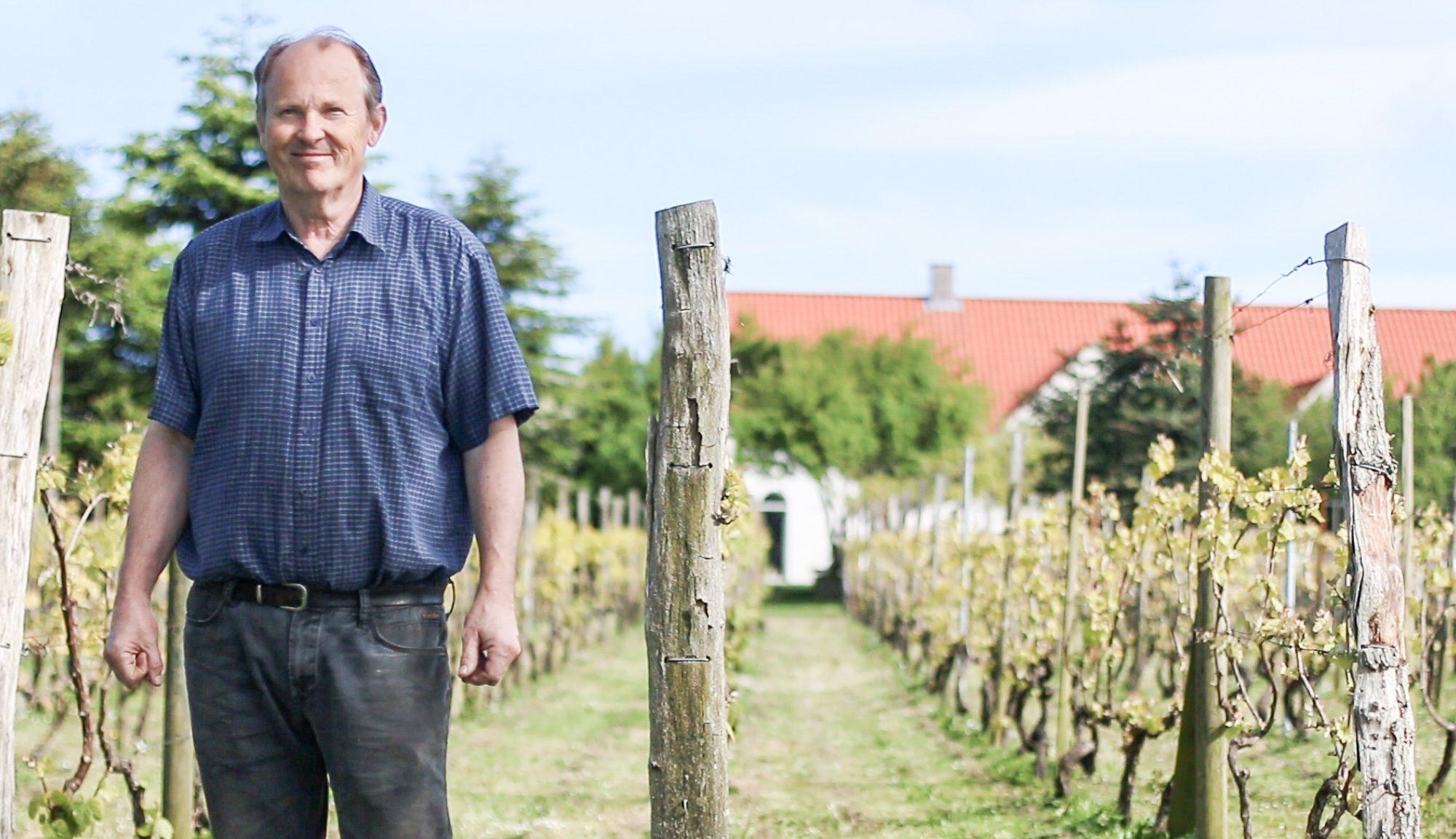 Hans Jørgen Madsen, Weingut Glenholm Vingård