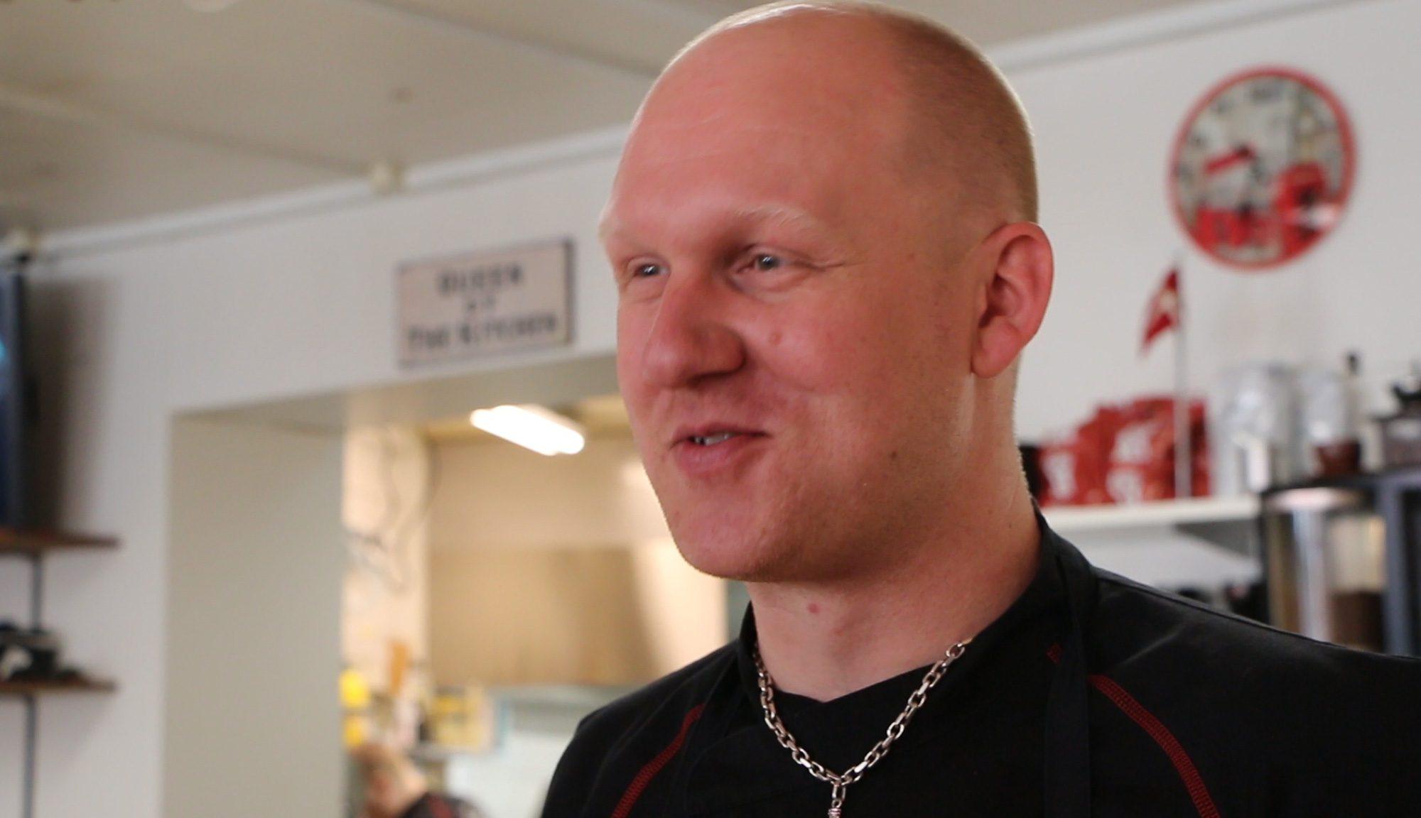 """Nils Tetzlaff, Koch und Mitinhaber """"Hos Tetzlaff"""" in Løgstør"""