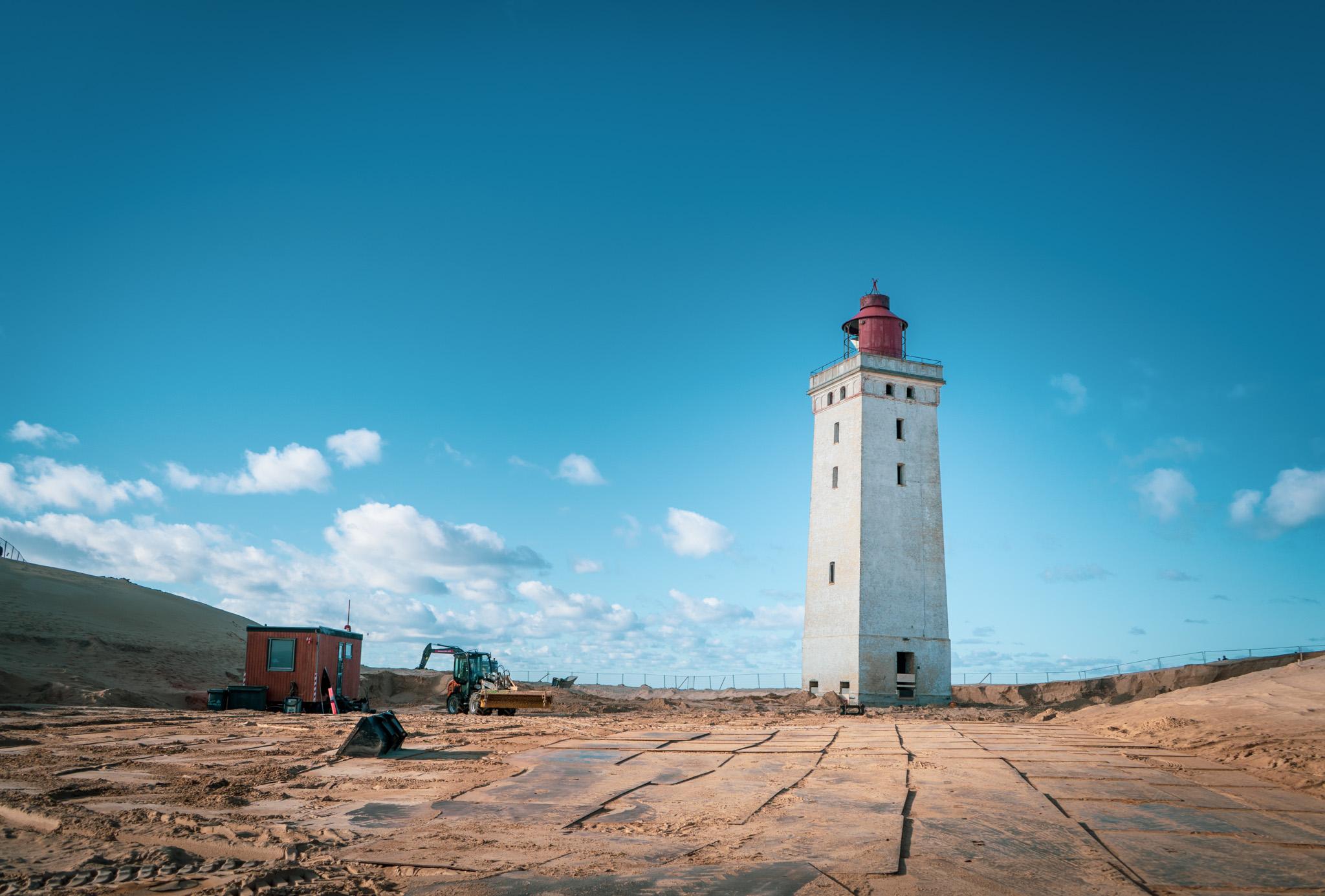 Rubjerg Knude – Nach dem Umzug